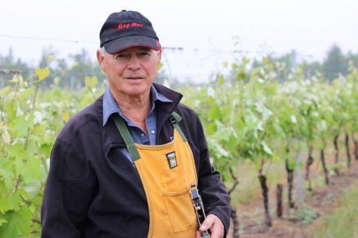 En 2018, Alan Hudson a vu 85% de sa récolte endommagée par un gel tardif. - Acadie Nouvelle: Simon Delattre