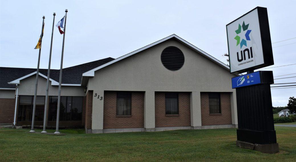 Le point de service d'UNI Coopération financière de Grande-Anse ferme définitivement ses portes. - Acadie Nouvelle: David Caron
