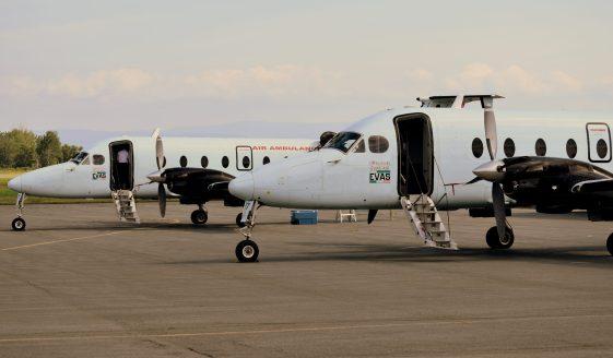 En dépit d'un achalandage moindre depuis la pandémie de la COVID-19, l'aéroport de Charlo parvient néanmoins à tire son épingle du jeu. - Acadie Nouvelle Jean-François Boisvert