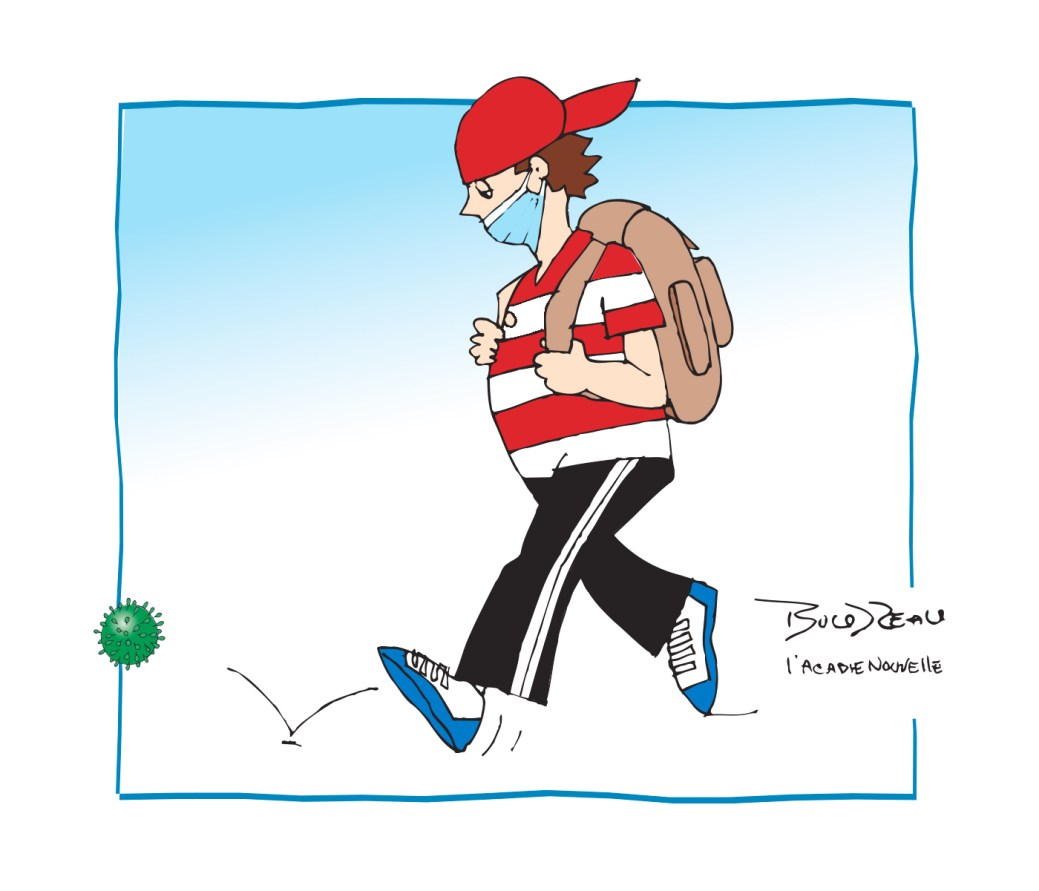 Caricature, 11 septembre 2020