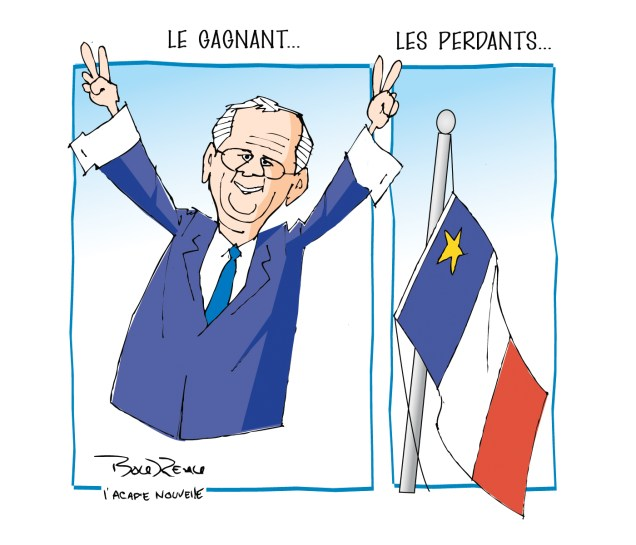 Caricature, 16 septembre 2020