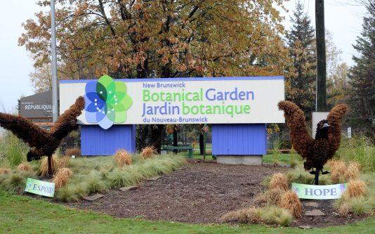 Le Jardin Botanique du Nouveau-Brunswick prépare pour la première fois cette année une activitée hivernale. - Acadie Nouvelle: Allison Roy