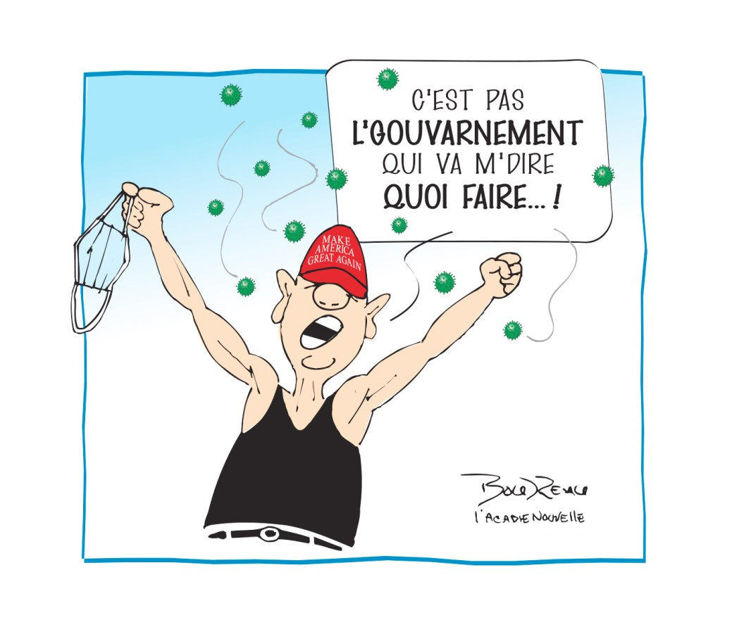 Caricature, 14 octobre 2020
