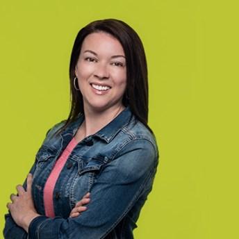 Sabrina Arsenault – Prix Enseignante ou enseignant de l'année 2020 AEFNB (Gracieuseté)