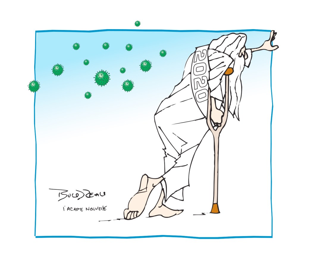 Caricature, 29 décembre 2020