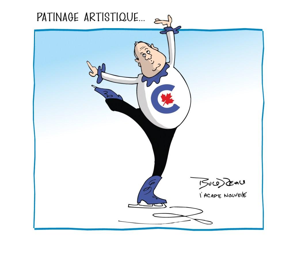 Caricature, 13 avril 2021