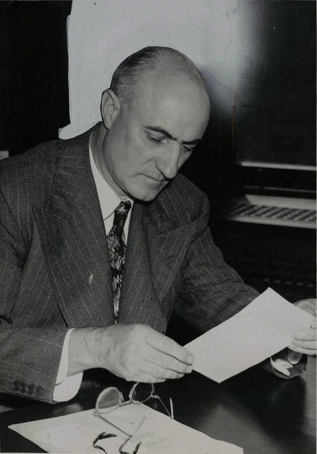 L'industriel K.C. Irving photographié en 1954. - Archives