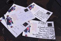 Voici quelques messages écrits par des gens de Moncton déclamés par la Crieuse. - Acadie Nouvelle: Sylvie Mousseau