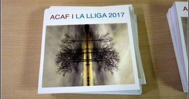 """Inauguración de la exposición """"ACAF i la lliga 2017"""" en PompeuLab"""