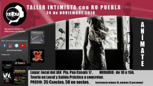 Taller de Retrato Intimista con Ro Puebla