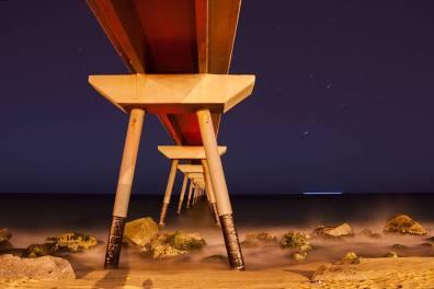 El mar de noche se mece como la seda - Regina Barbas