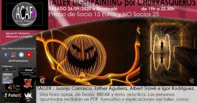 Taller de Lightpainting por Churrasqueros