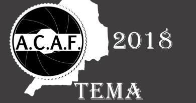 Temas Liga Social ACAF 2018