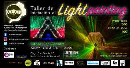 taller de iniciación al Lightpainting