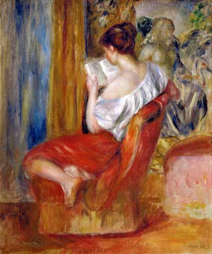 Renoir Muller lendo