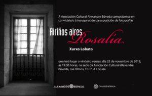 Airiños aires Rosalía Xurxo Lobato