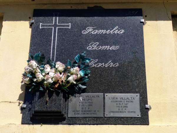 Tumba de Luísa Villalta