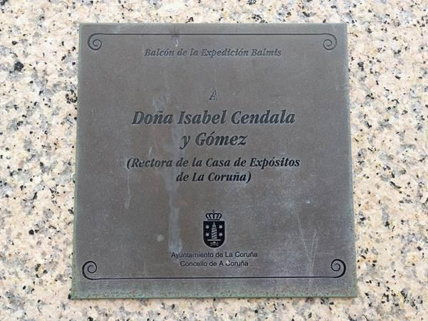 Placa a Isabel Zendal