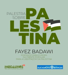 Palestra sobre Palestina