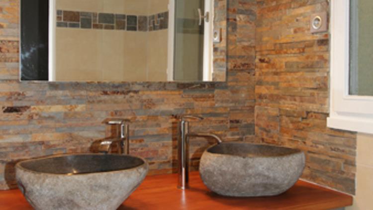 ACANTHE SOL Vasques Vier Salle De Bain En Pierre Naturelle