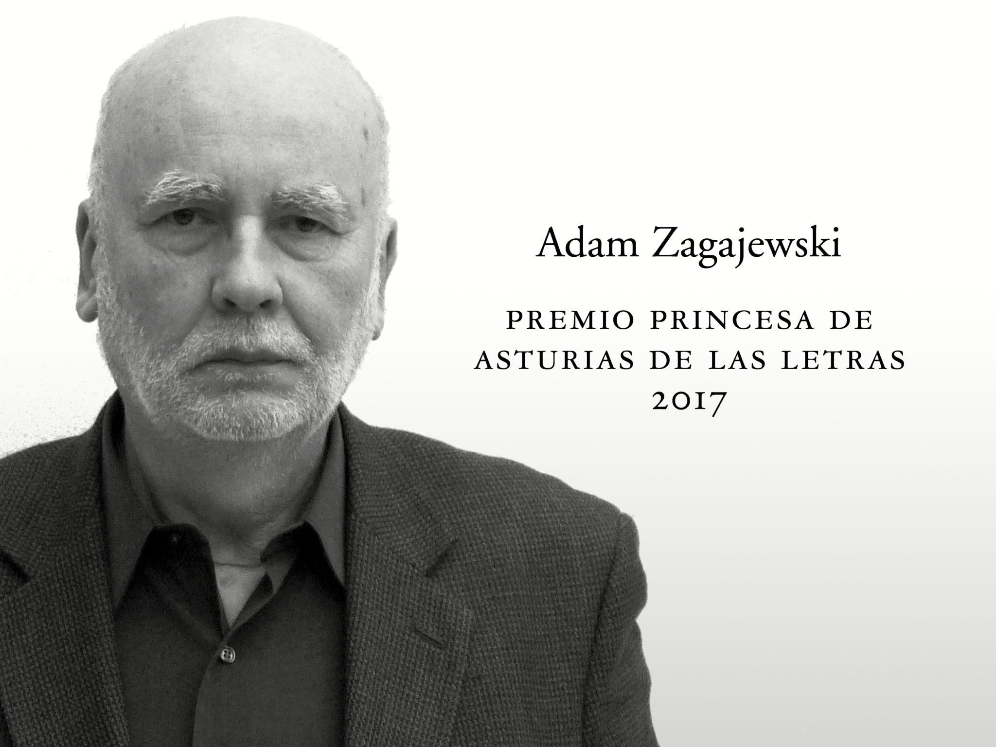 Resultado de imagen de ADAM ZAGAJEWSKI