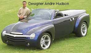 Chevy SSR with designer Andre Hudson