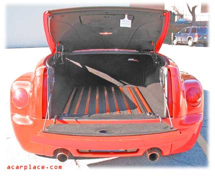 SSR pickup bed and tailgate