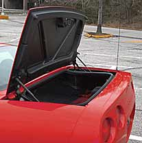 2002 Chevrolet Corvette Z06 trunk