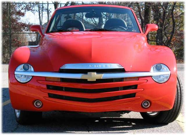 head on - Chevy SSR cars