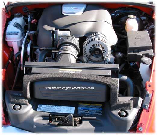 SSR 6.0 liter V8 engine