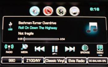 2017 Chevy Cruze stereo