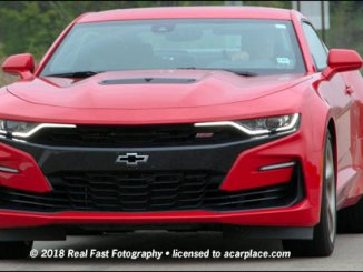 2019 Chevrolet Camaro SS spy shot