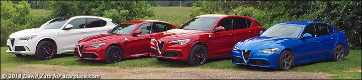 2019 Alfa Romeo cars