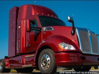Toyota hydrogen fuel cell truck