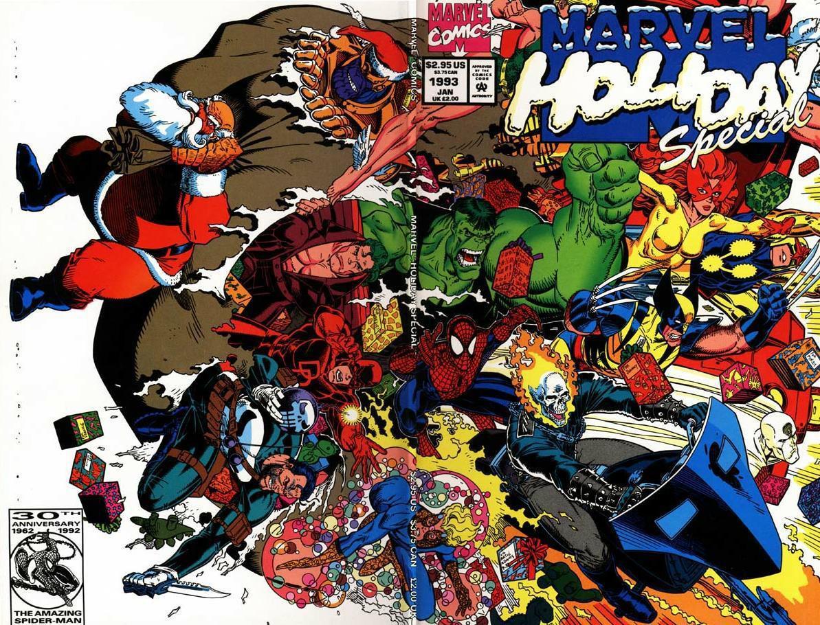 Dec 16 A Merry Marvel Christmas A Cartoon Christmas