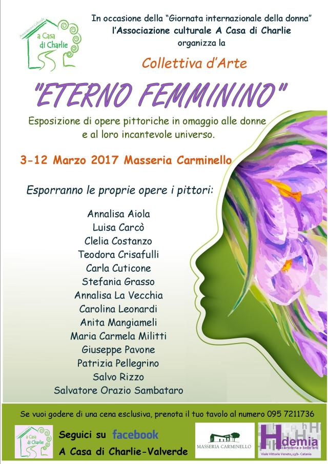 collettiva eterno femminino espositori definitiva