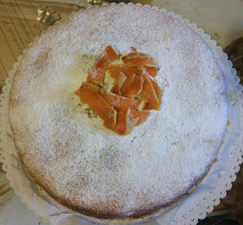 torta al'arancia