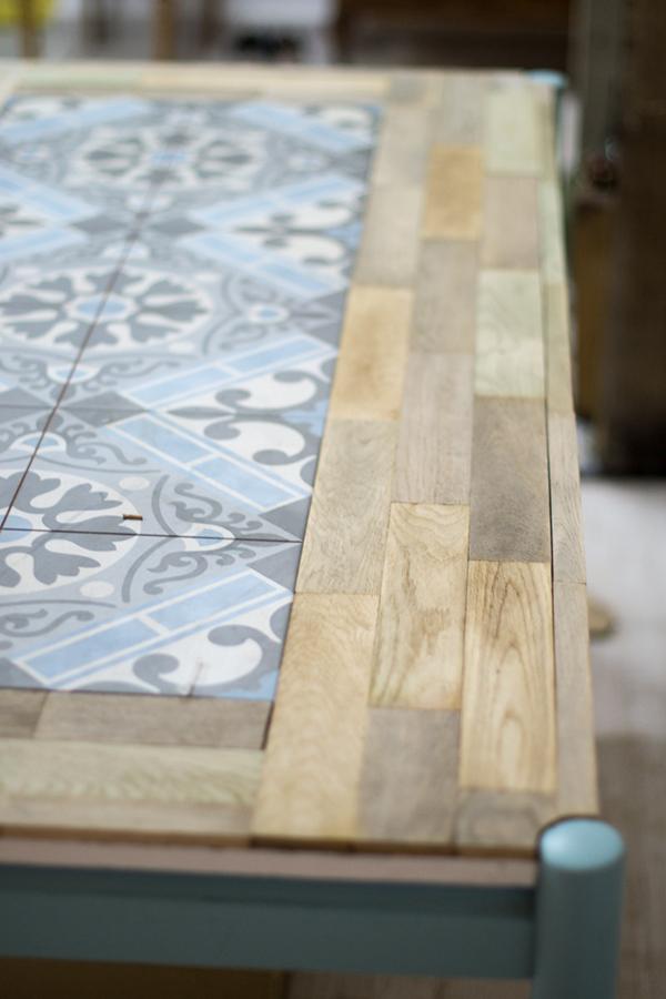 ideia para reformar uma mesa velha  A casa que a minha v