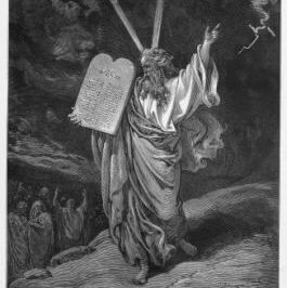 The anger and compassion of Moses