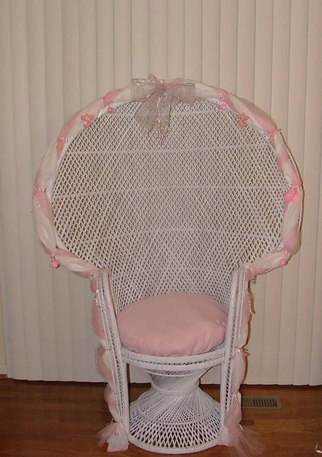 Bridal and Baby Shower Chairs Virginia