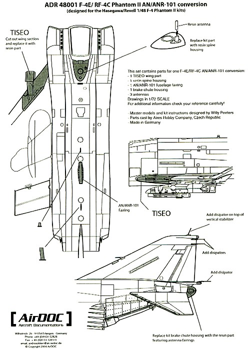 F-4 Phantom II Accessories Review by David W. Aungst