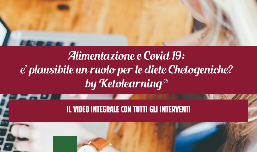 Alimentazione e Covid 19: il video integrale del webinar