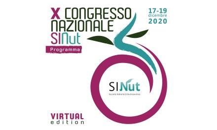 X CONGRESSO NAZIONALE SiNut