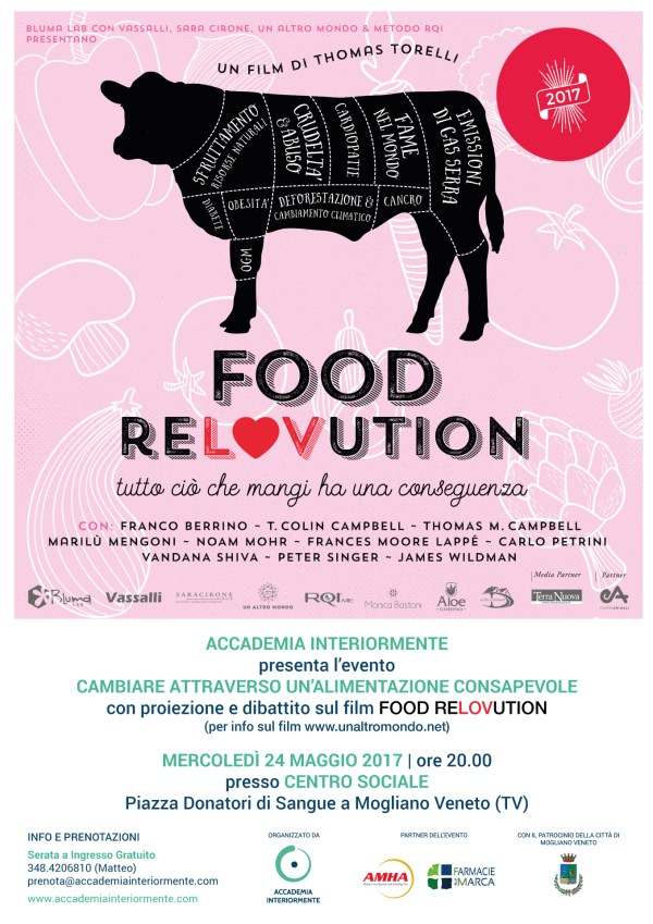 Locandina documentario film: Food ReLOVution