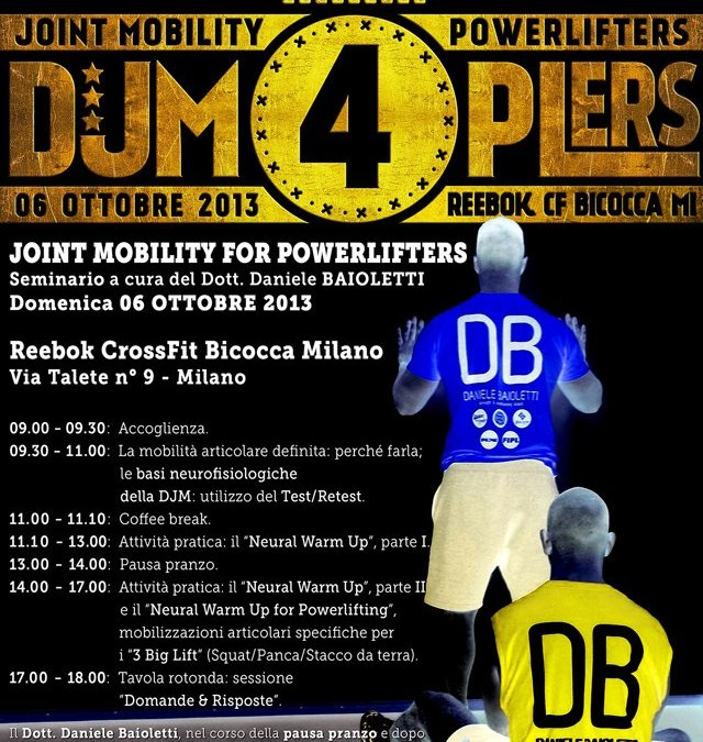 JOINT MOBILITY FOR POWERLIFTERS