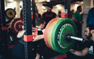 BARBELL SQUAT ROUTINE