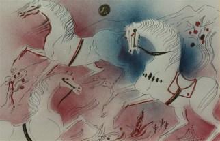 Cavalli - olio su tela 50x70 (2)