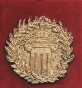 Decennale La Sponda - bassorilievo in bronzo