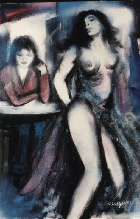Donne - olio su tela 50x70