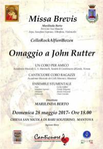 Missa Brevis Omaggio a John Rutter Solferino 2017